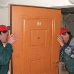 A biztonsági ajtó gyártásának folyamata - összeállítás